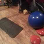 Weights & Exercise Balls In My Personal Training Gym